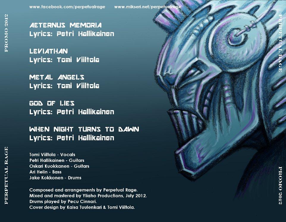 Perpetual Rage Promo2012
